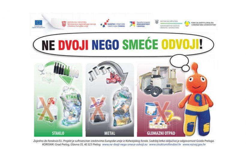 Izrada letka o odvajanju otpada prilagođena osobama s intelektualnim teškoćama